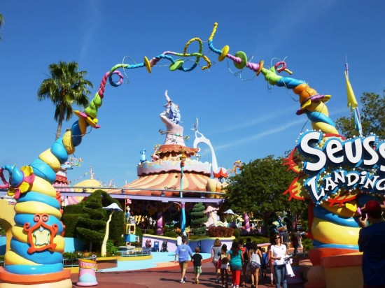 Islands of Adventure trip report - November 2012.