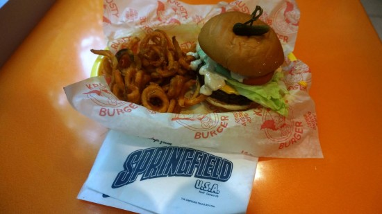Krusty Burger - The Simpsons Fast Food Blvd.