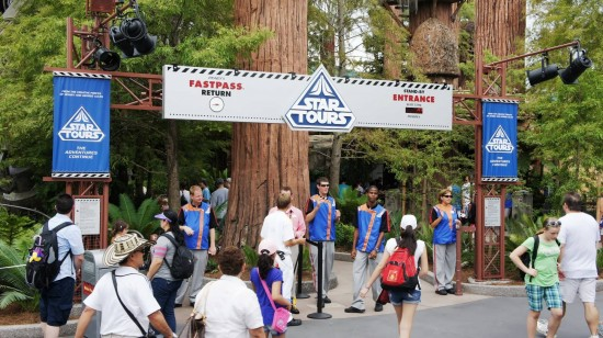 Star Tours at Disney's Hollywood Studios.