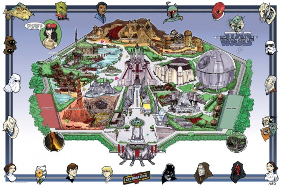 Star Wars Universe Dream Park courtesy of Tom Hodges.