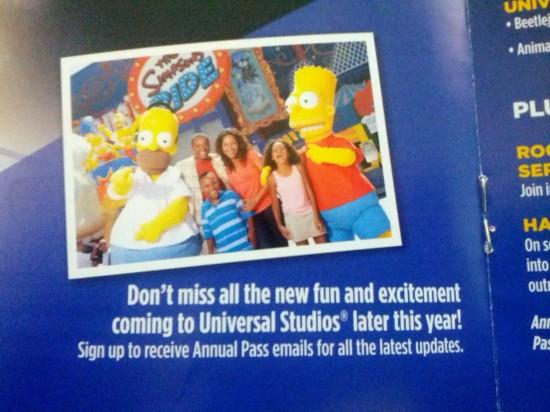 Universal Orlando's Spring 2013 PASSPORT.