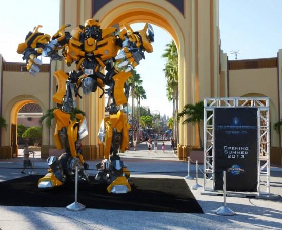 Universal Studios Florida trip report - November 2012.