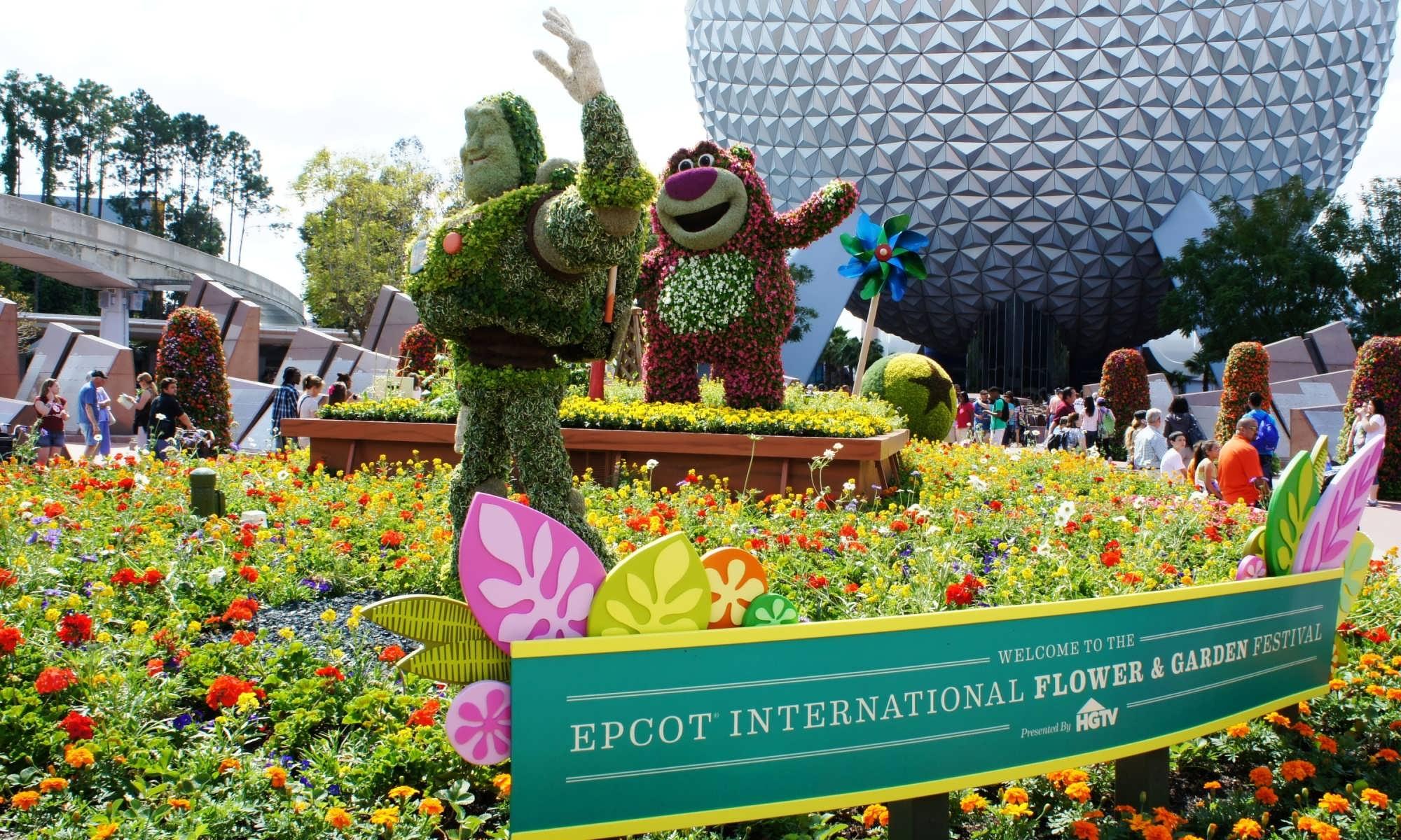 2013 epcot international flower & garden festival march 6 - may 19