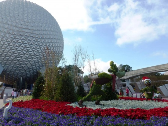 Epcot trip report - December 2012.