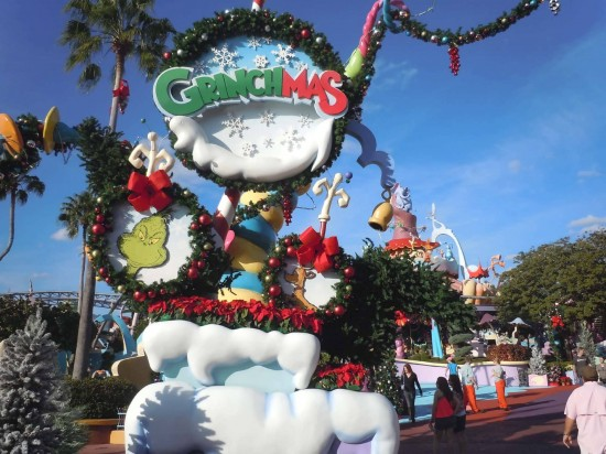 Grinchmas at Universal's Islands of Adventure.
