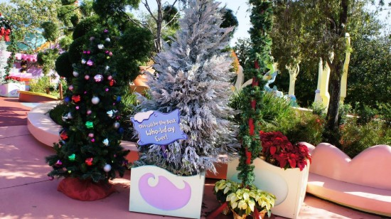 Grinchmas decorations 2012 at Islands of Adventure.