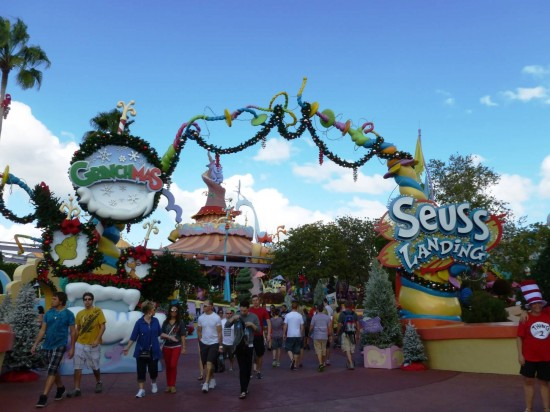 Islands of Adventure trip report - December 2012.