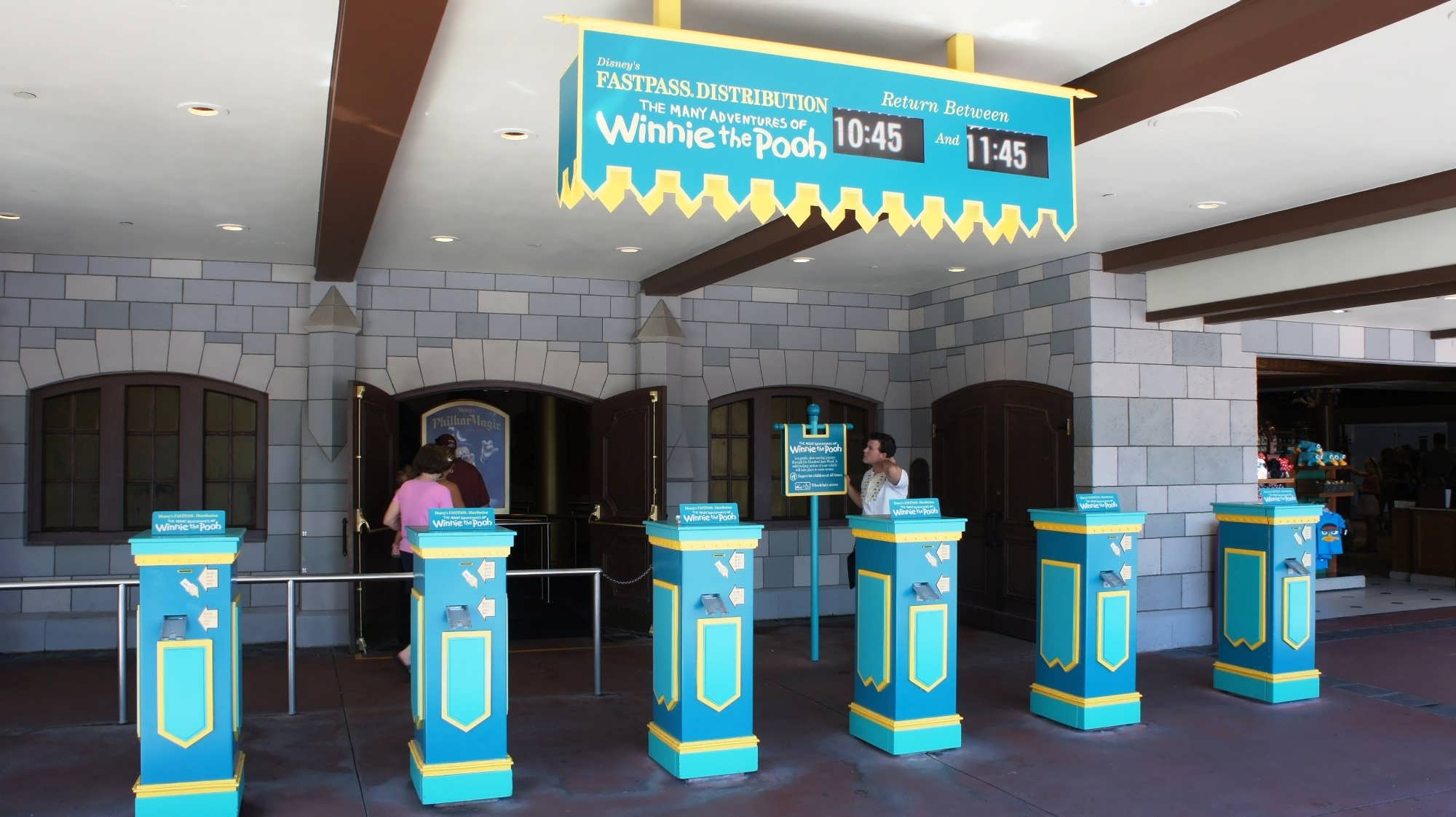Lovely Say Goodbye To The Classic FastPass Kiosks.