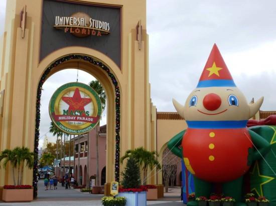 Universal Studios Florida trip report - December 2012.