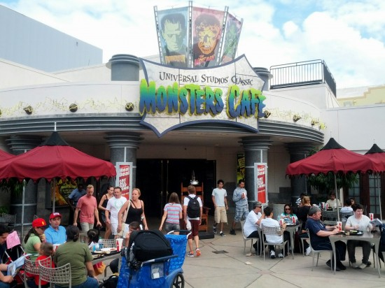 Universal Studios' Classic Monster Cafe still stands.