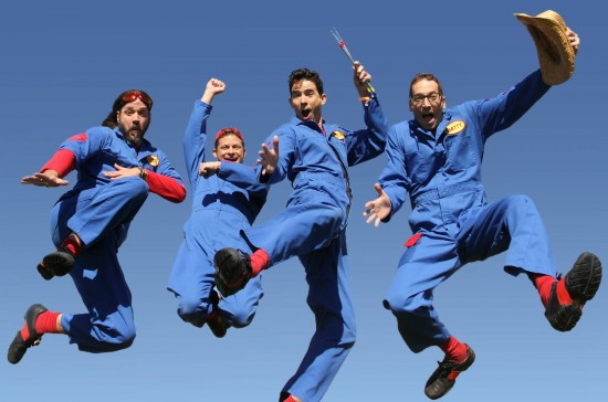 Imagination Movers, scheduled to play Just for Kids on January 12.