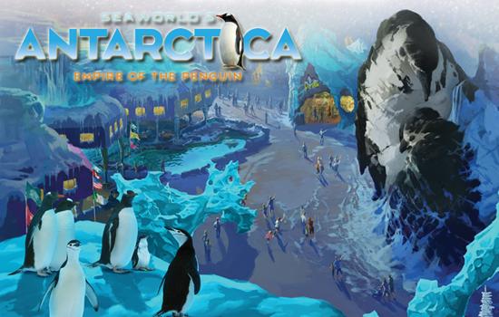 SeaWorld Orlando's Antarctica: Empire of the Penguin.