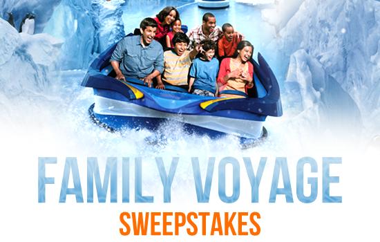 Win a trip to SeaWorld Orlando.