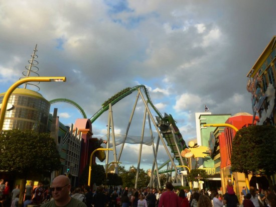 Islands of Adventure trip report - January 2013.