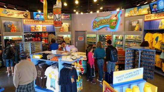 Kwik-E-Mart at Universal Studios Florida.