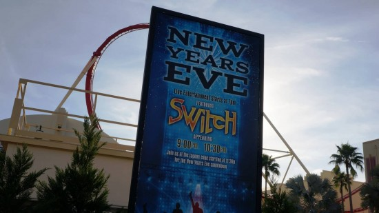 Universal Studios Florida New Year's Eve concerts.