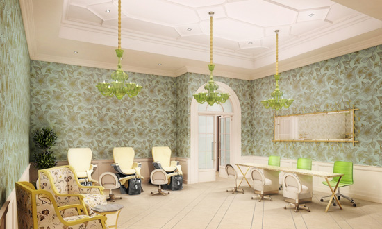 Inside Senses - A Disney Spa at Grand Floridian Resort.