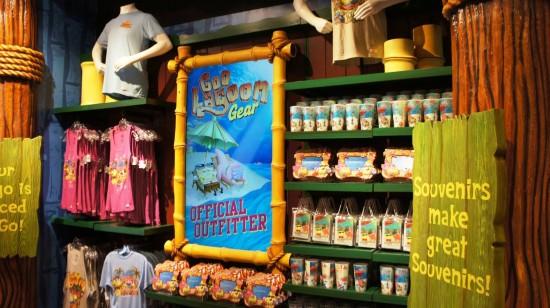SpongeBob StorePants at Universal Studios Florida.