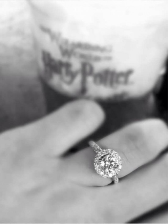 Wizarding World of Harry Potter engagement.
