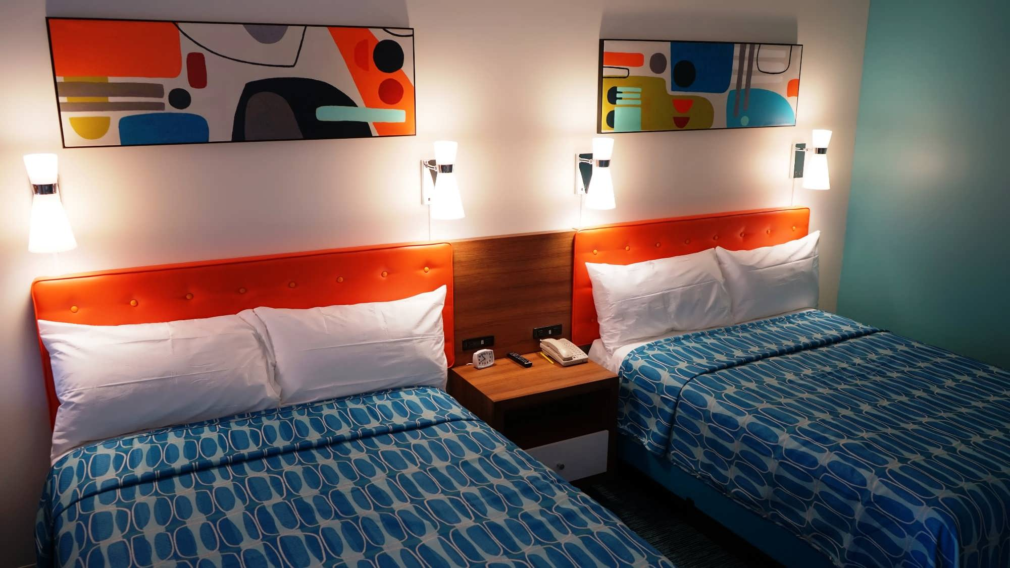 Family suite at Cabana Bay Beach Resort.