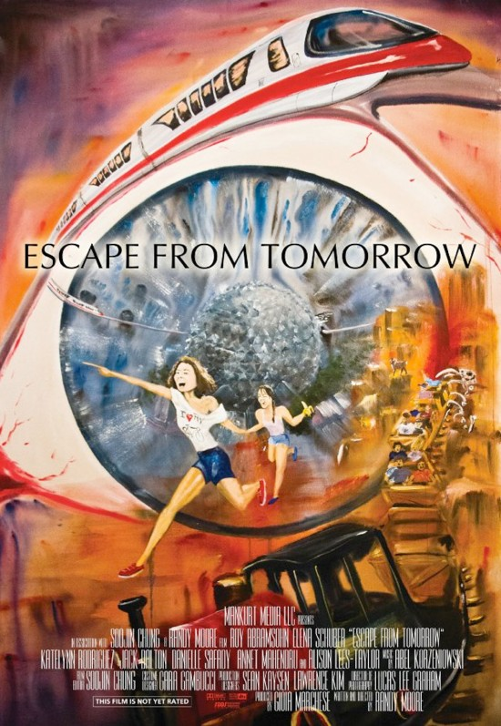 Escape From Tomorrow - 2013 - film poster.