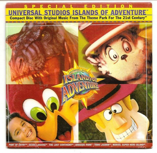 Universal's Islands of Adventure: Special Edition soundtrack.