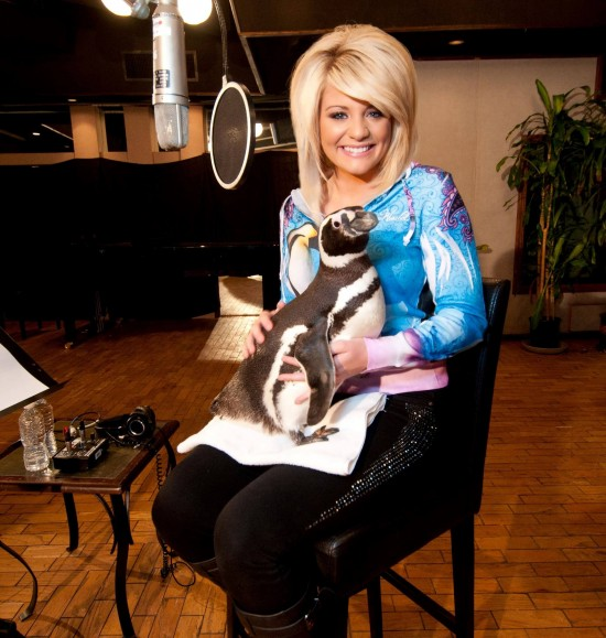 Lauren Alaina performs the official theme song for Antarctica.