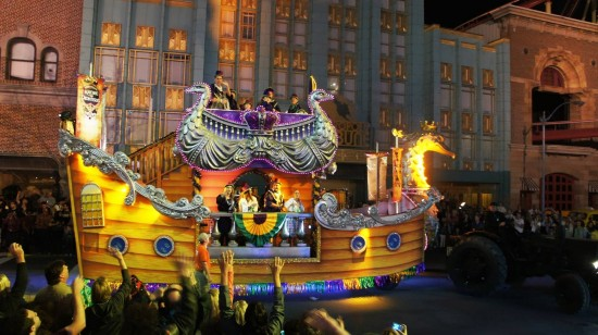 Mardi Gras 2013 at Universal Studios Florida.