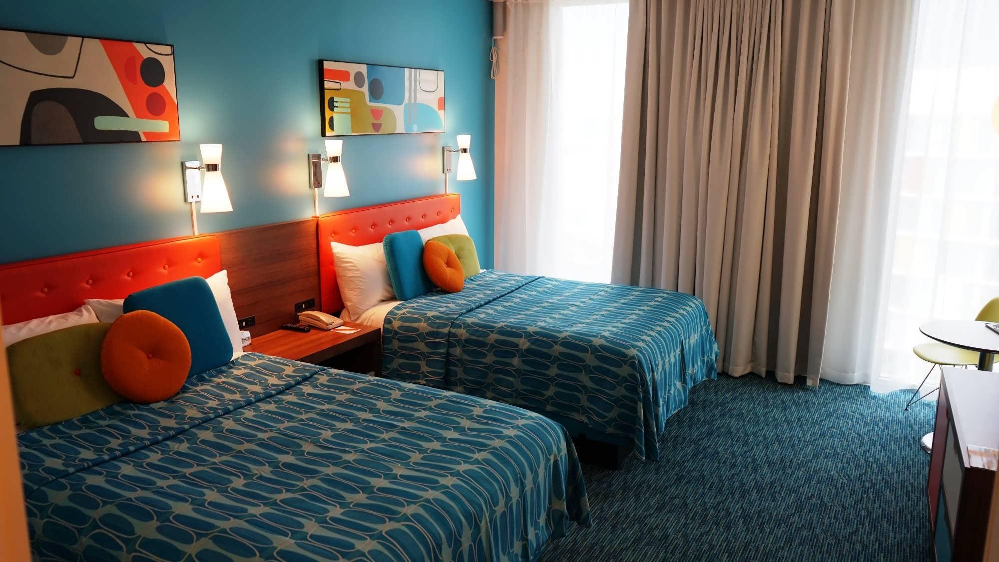 Standard room at Cabana Bay Beach Resort.