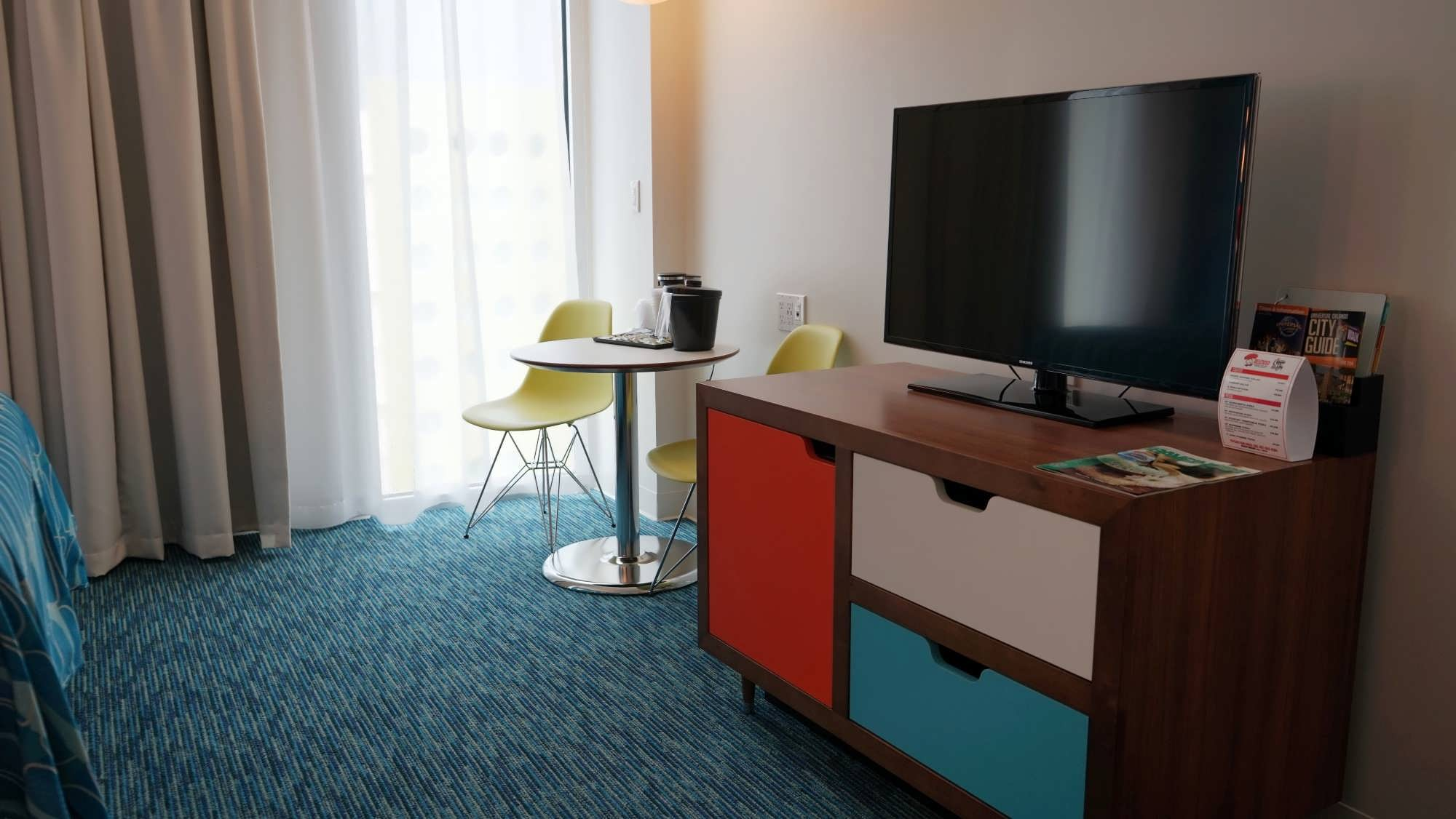 Standard room at Cabana Bay Beach Resort.