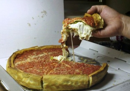 Giordano's Famous Stuffed Pizza.