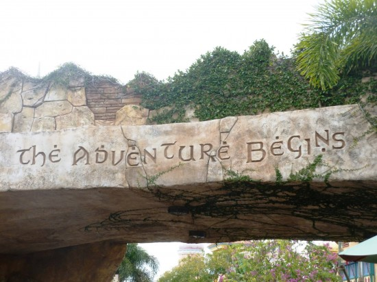 Islands of Adventure trip report - February 2013.