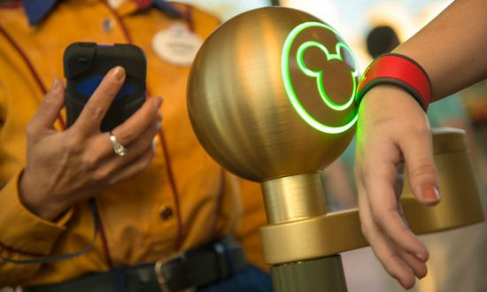 MyMagic+ MagicBand at Walt Disney World.