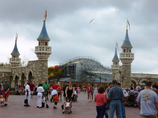 Magic Kingdom trip report - February 2013.