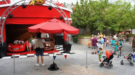 DCA's Cars Land: Similar to this DHS photo op, but bigger.
