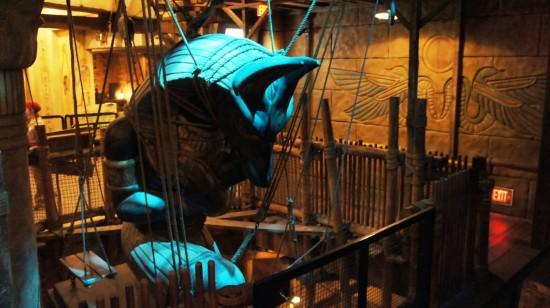 Revenge of the Mummy at Universal Studios Florida.
