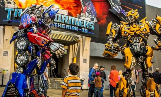 Transformers coming soon to Universal Studios Florida.