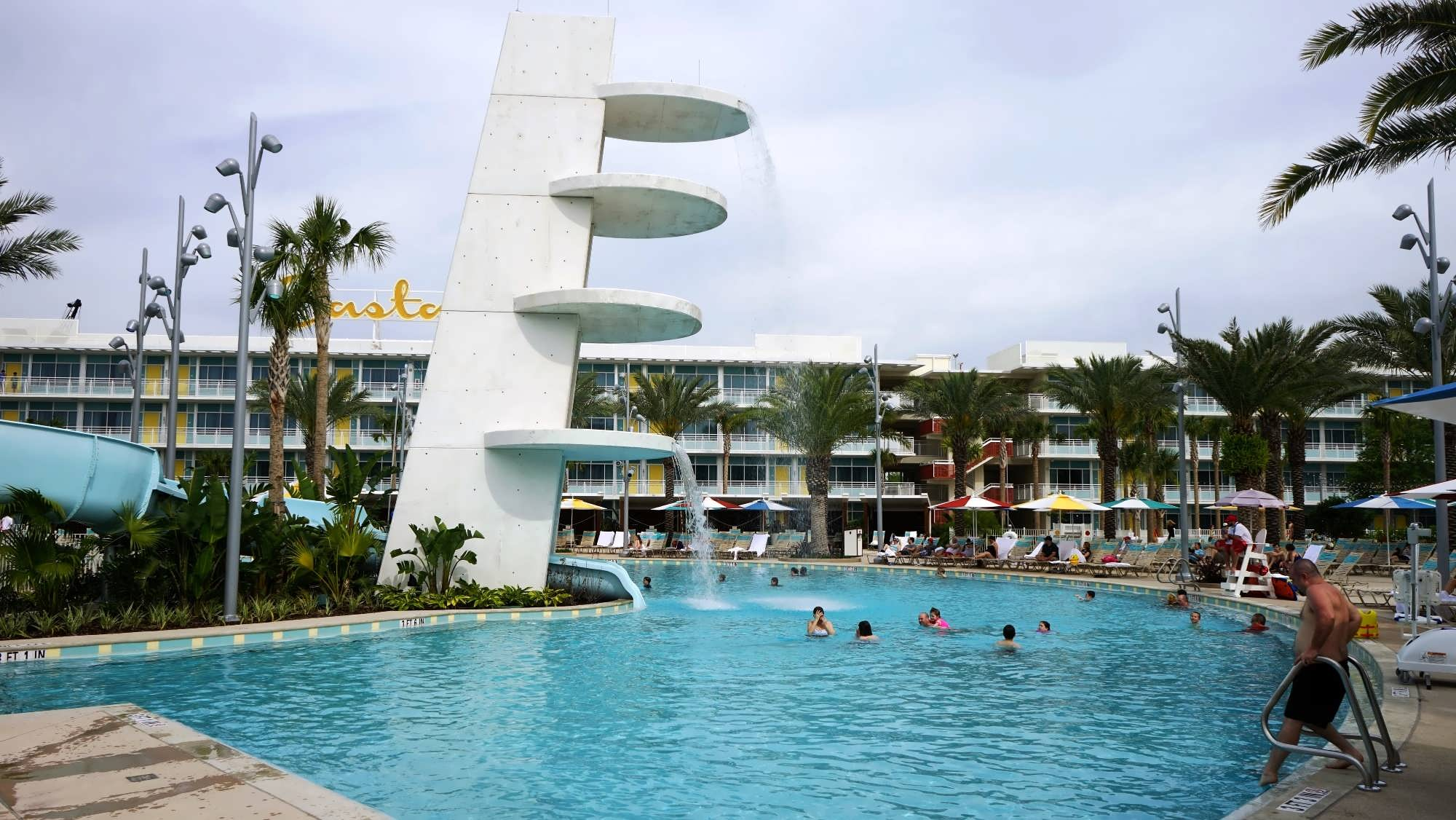 Gallery Of North Courtyard Pool Area At Cabana Bay Beach Resort With Modern  Pool Cabana