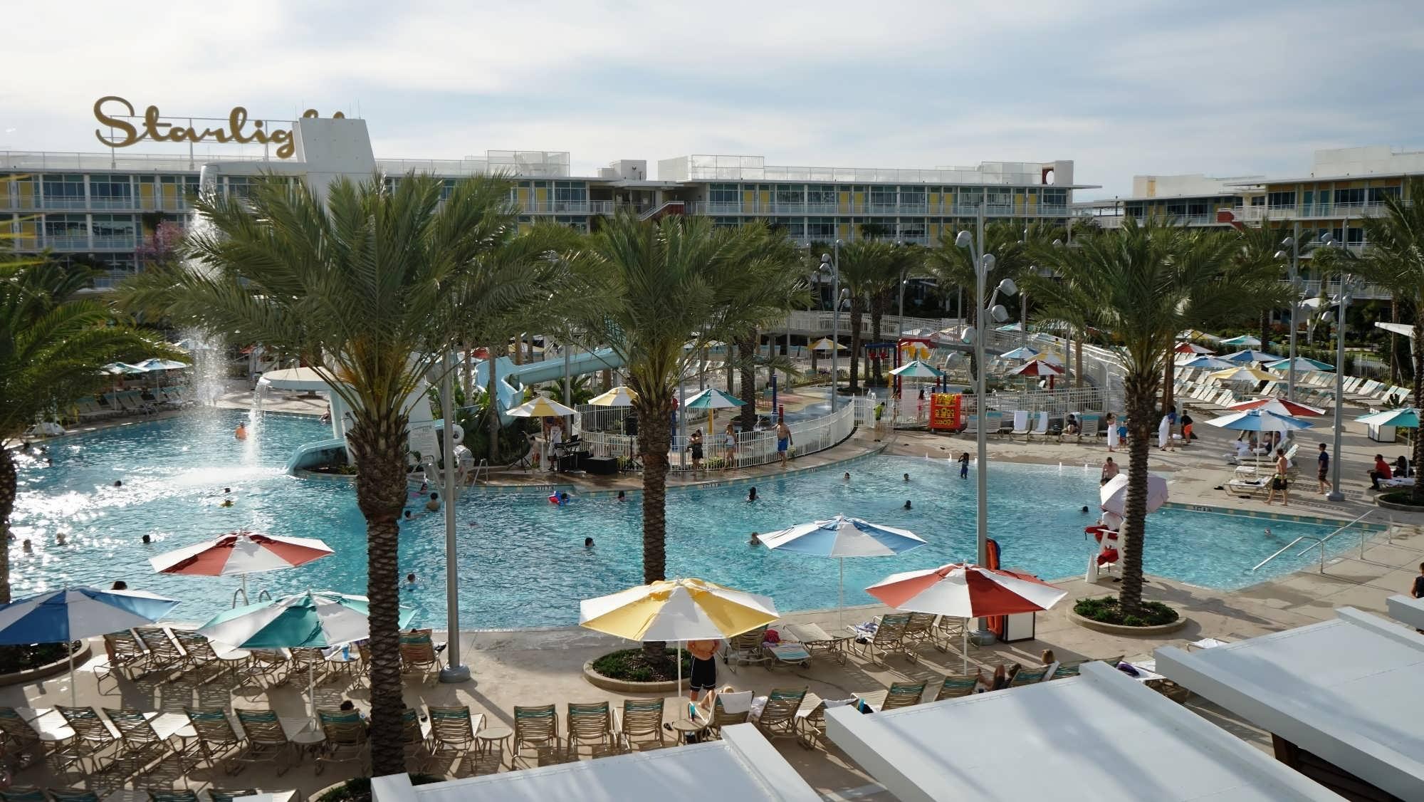 North Courtyard Pool Area At Cabana Bay Beach Resort