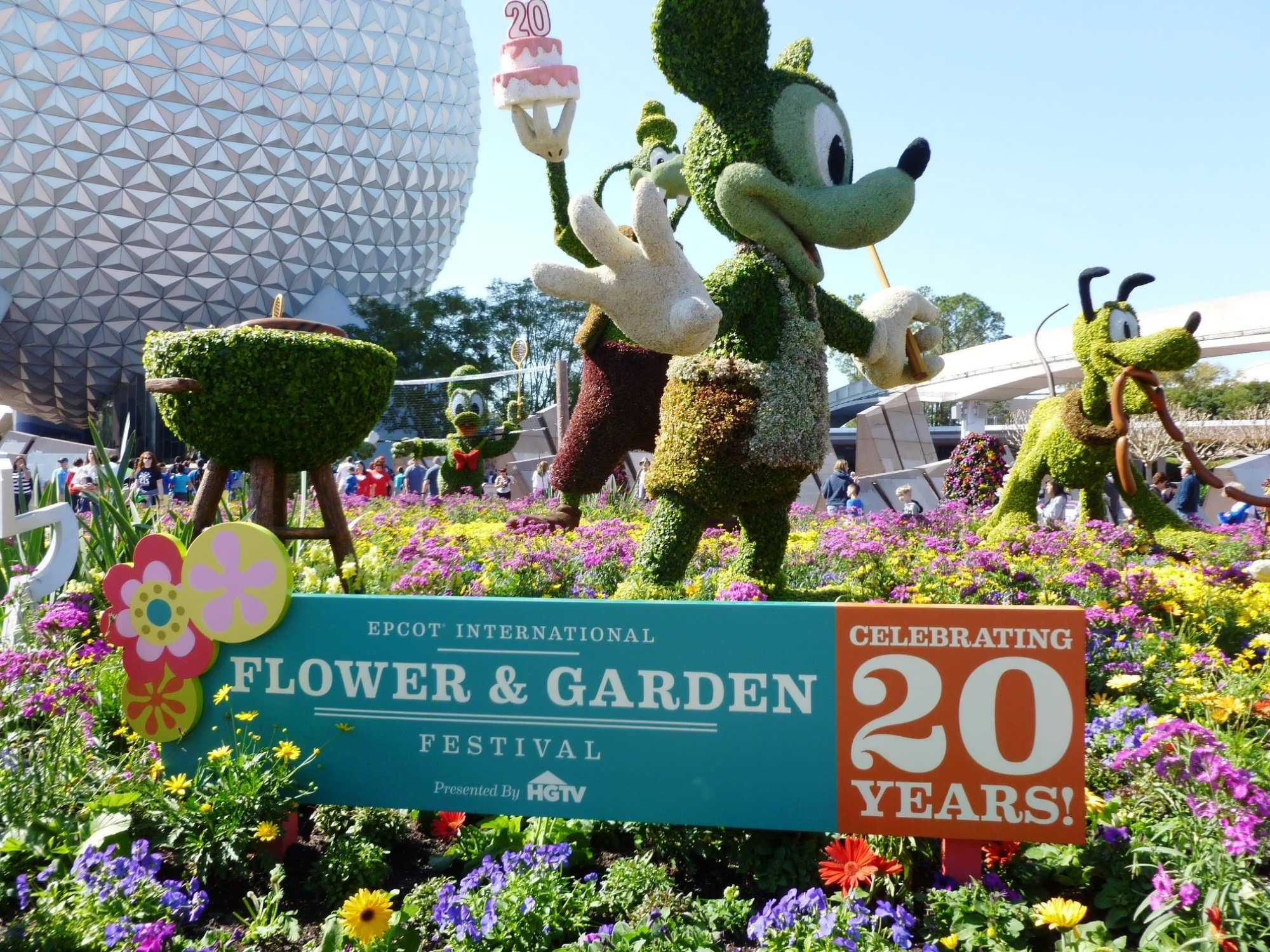 2013 epcot international flower & garden festival trip report