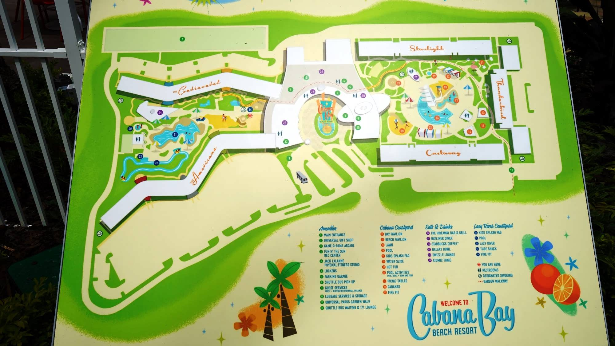 Cabana Bay Beach Resort: Pool areas - photo gallery, details, & more on