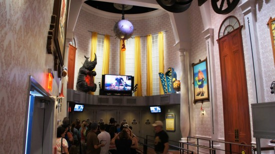 Despicable Me Minion Mayhem at Universal Studios Florida.