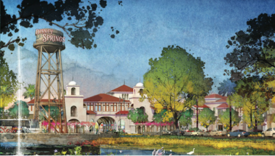 Disney Springs concept art.