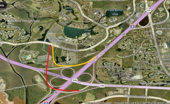 Proposed I-4 Downtown Disney ramps now off the table?
