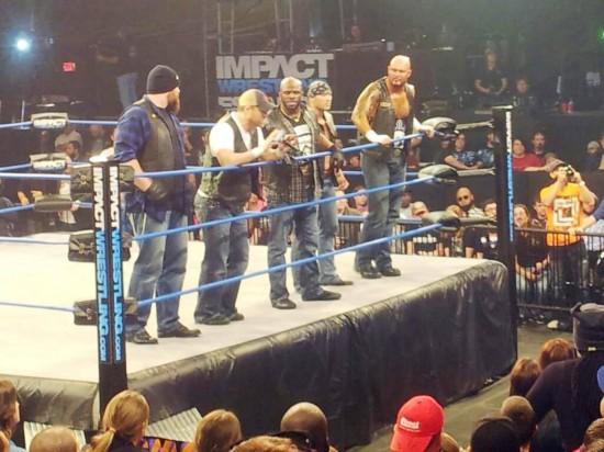 IMPACT Wrestling at Universal Orlando.