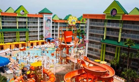 Nickelodeon Hotel.
