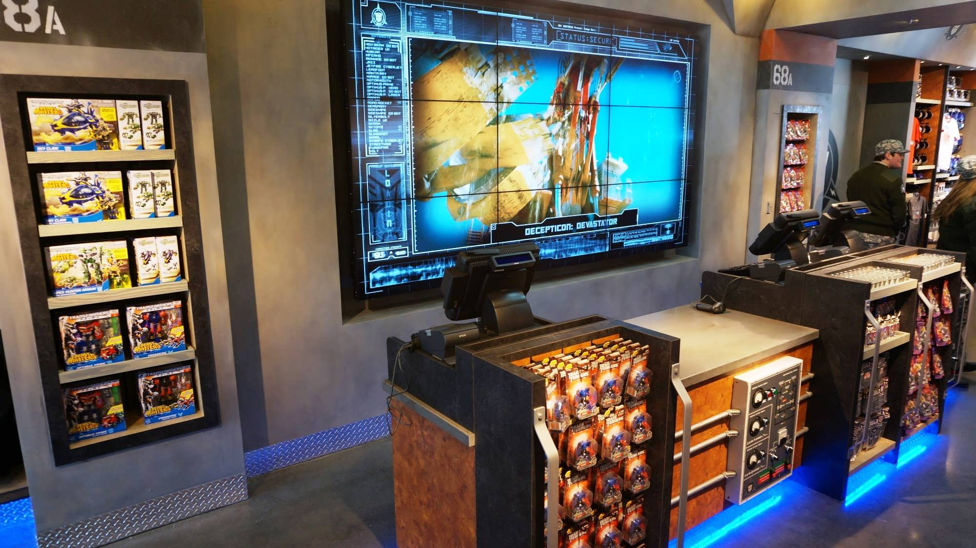 Transformers gift shop now open at Universal Studios Florida ...
