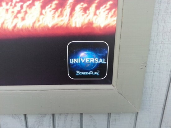 Universal ScreenPlay icon appearing at Universal Orlando.