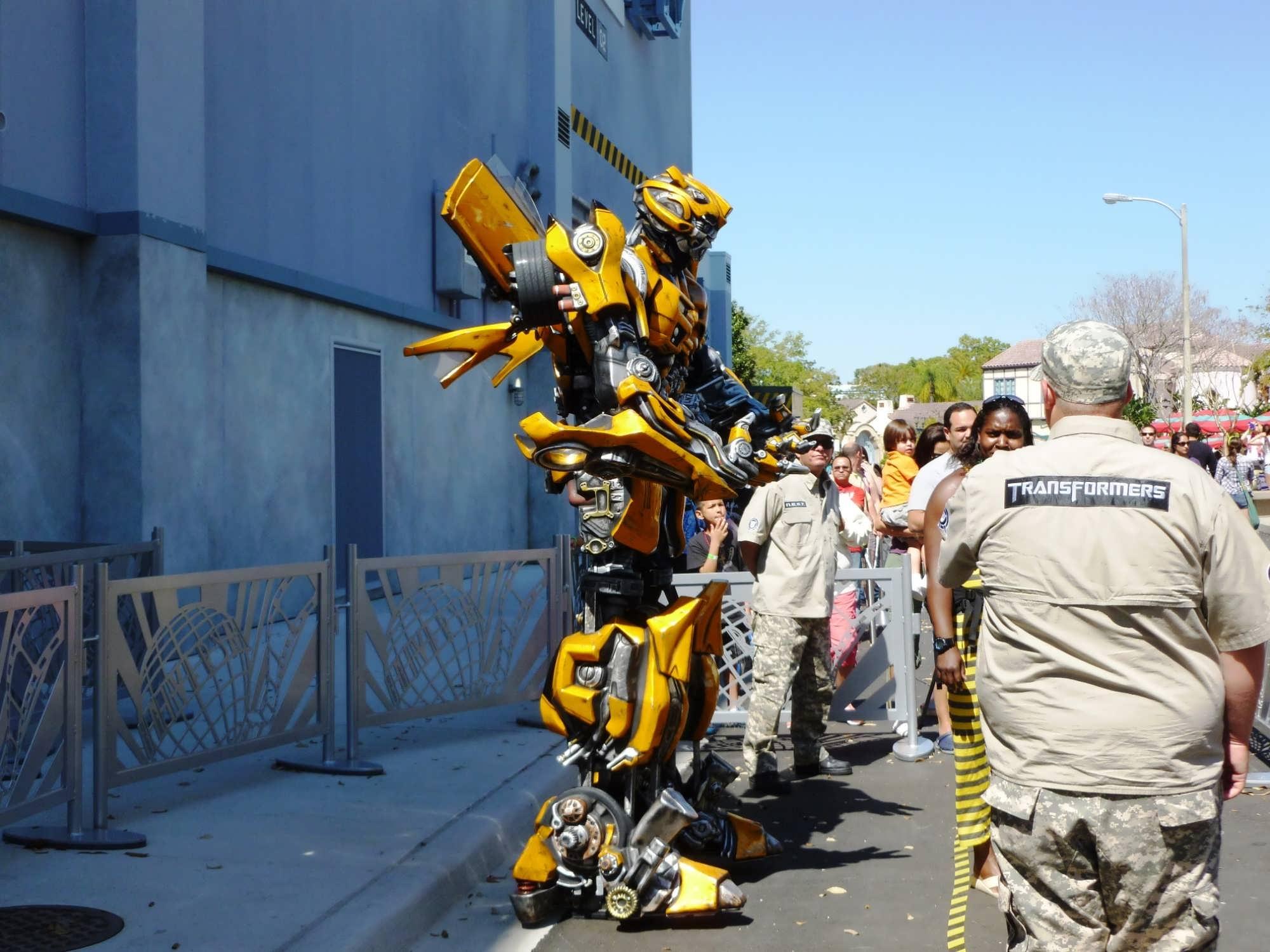 Universal Studios Florida Trip Report March 2013 Construction