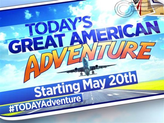 TODAY's Great American Adventure live at Universal Orlando this Thursday!